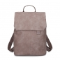 Mobile Preview: Zwei Rucksack Mademoiselle MR 13 canvas taupe