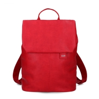 Mobile Preview: Zwei Rucksack Mademoiselle MR 13 canvas red